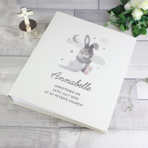 Personalised Baby Bunny Traditional Photo Album