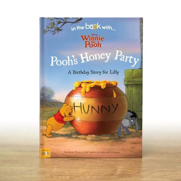 Personalised Disney Winnie the Pooh Birthday Softback book
