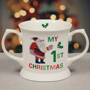 Personalised Hungry Caterpillar My 1st Christmas Loving Cup