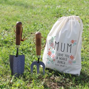 Personalised I Love You A Whole Bunch Garden Tool Set