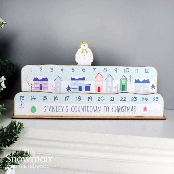 Personalised Make Your Own Snowman Advent Countdown Kit