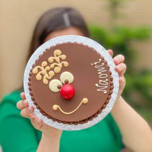 Personalised Mini Reindeer Smash Cake