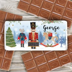 Personalised Nutcracker Milk Chocolate Bar