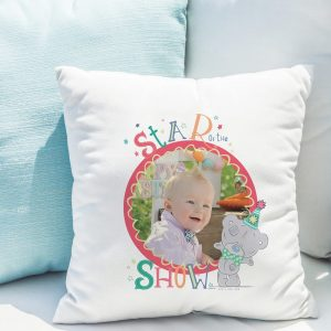Personalised Tatty Teddy Circus Star of the show Photo Upload Cushion
