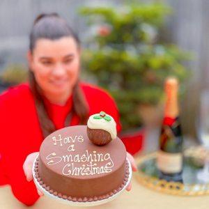 Personalised Terry's Chocolate Orange Christmas Smash Cake
