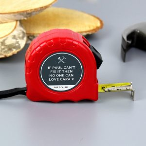 Personalised Tools Tape Measure