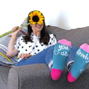 Ladies You are lovely socks