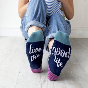 Live the Good Life Socks