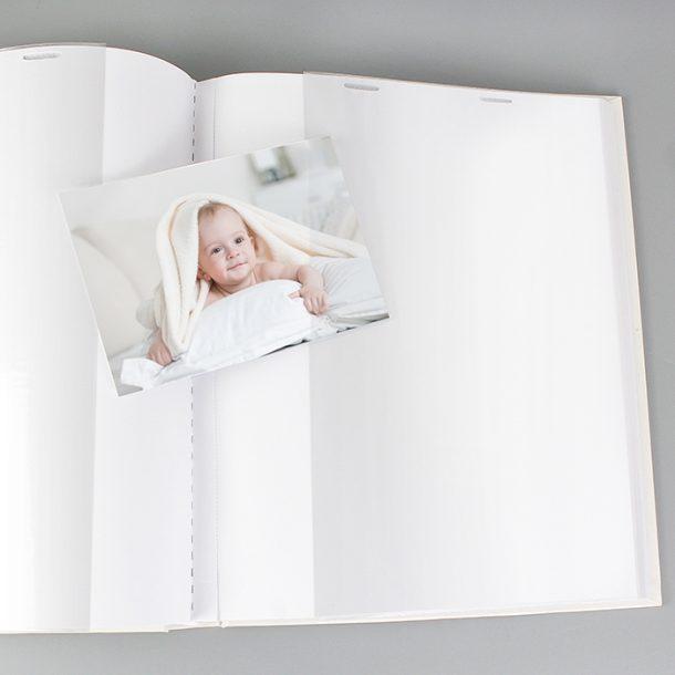 Personalised Whimsical Pram Album with Sleeves