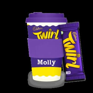 Personalised Cadbury Twirl Ecoffee Cup