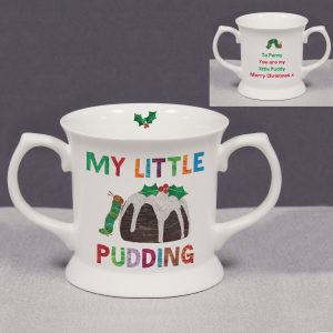 Personalised Hungry Caterpillar My Little Pudding Loving Cup