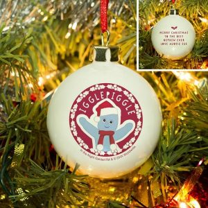 Personalised In The Night Garden Igglepiggle Snowtime Bauble