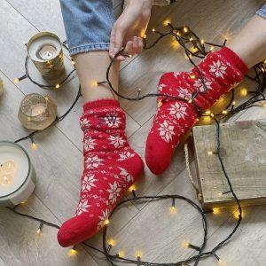 Personalised Patterned Slipper Socks
