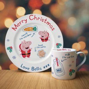 Personalised Peppa Pig Santa Treat Set