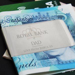 Personalised Royal Bank of Money Clip