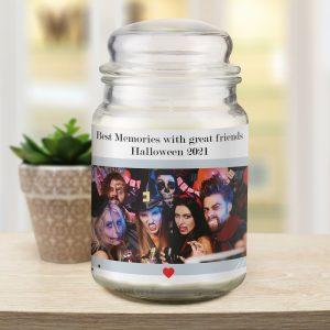 Photo Upload Candle Jar