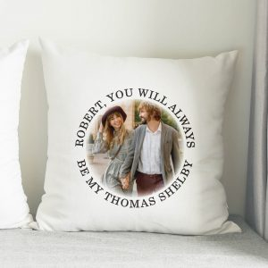Photo Upload Peaky Blinders Cushion