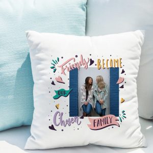 Chosen Family Photo Upload Cushion