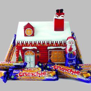 Personalised Cadbury Crunchie Santa Grotto Hamper Box