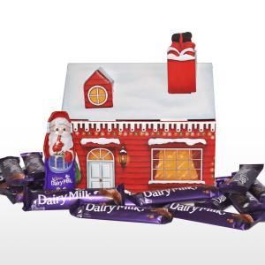 Personalised Cadbury Dairy Milk Santa's Grotto Hamper Box