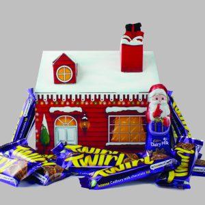 Personalised Cadbury Twirl Santa Grotto Hamper Box