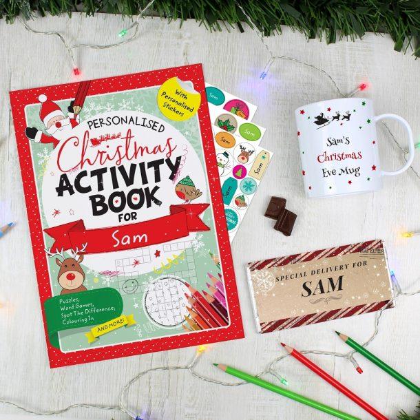 Personalised Children's Christmas Gift Set