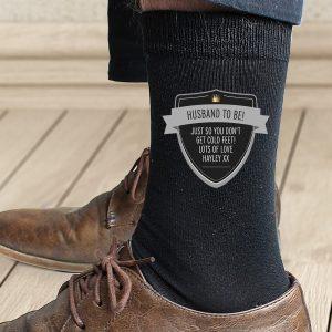Personalised Classic Shield Men's Socks