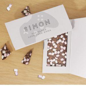 Personalised Controller Milk Chocolate Card