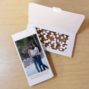 Personalised Photo Upload Milk Chocolate Card