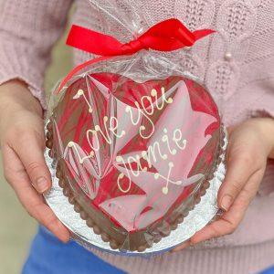 Personalised Belgian Chocolate Smash Heart