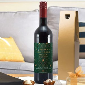 Personalised HotchPotch Jolly Good Fellow Red Wine
