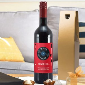 Personalised HotchPotch Oldie But A Goodie Red Wine
