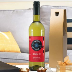 Personalised HotchPotch Oldie But A Goodie White Wine