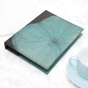 A5 Lotus Notebook - Turquoise