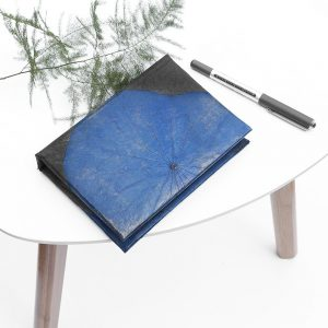 A6 Lotus Notebook - Blue
