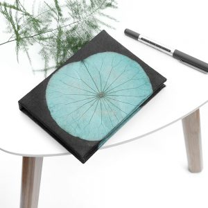 A6 Lotus Notebook - Turquoise