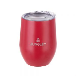 Matte Stemless Wine Insulated Tumbler - Red
