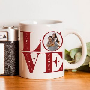 Personalised LOVE Photo Upload Mug
