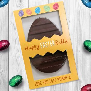 Personalised Letterbox Easter Egg – Happy Easter