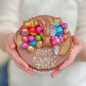 Personalised Mini Easter Smash Cake