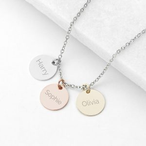 Personalised My Family Disc Necklace