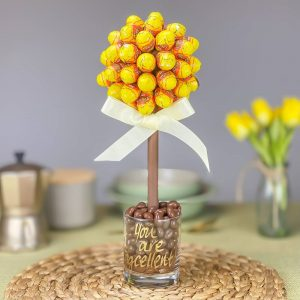 Personalised Reese's Peanut Butter Crème Mini Eggs Sweet Trees