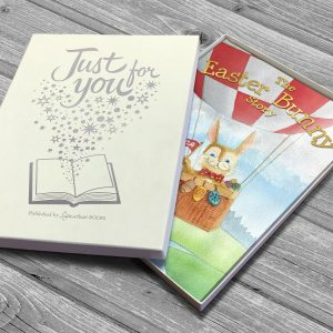 Personalised The Easter Bunny Softback Book