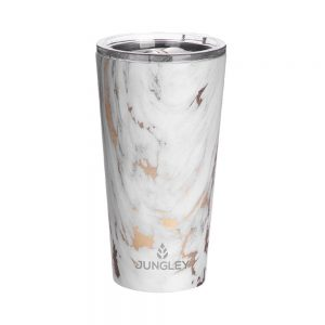 Stainless Steel Insulated Tumbler - Gold Marble