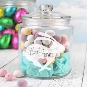 Easter Treats Sweets Jar