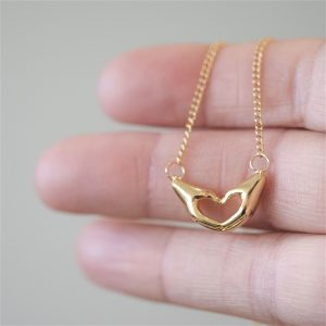 Love You Necklace & Personalised Gift Box