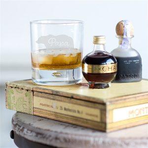 Papa Bear Whisky Glass