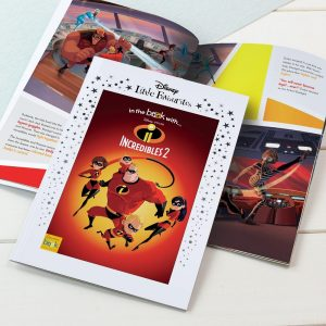 Personalised Disney Little Favourites Incredibles 2 Softback Book