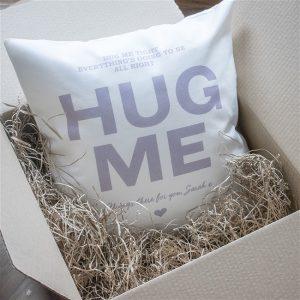 Personalised Hug Me Cushion