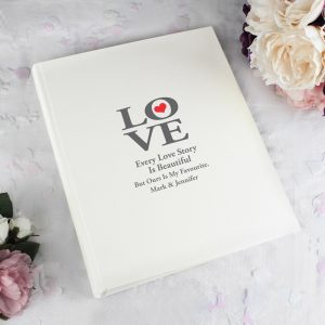 Personalised Love Album with Sleeves